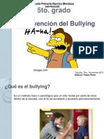 Presentación Bullying 5to.