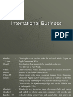 International Business (ExPGDM - Batch 2)