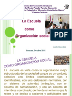 Expo Sic Ion de Sociologia Tercer Corte
