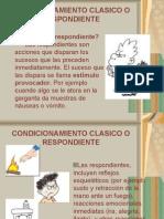CONDICIONAMIENTO CLASICO  UNS