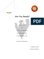 Are You Ready '11.Project Proposal