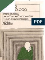 S1Bourdieu,Pierre y otros (2004) El oficio de sociólogo, La ruptura