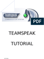 TeamSpeak Tutorial Official