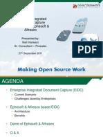 Ephesoft Alfresco based Enterprise Integrated Document Capture