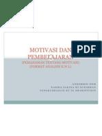 Motivasi Dan Pembelajaran (Kwl)