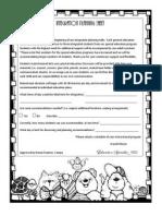Integration Planning Sheet