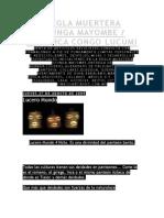 Regla Muertera Otunga Mayombe