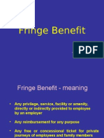Fringe Benefits 10