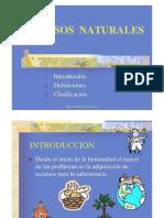 RECURSOS NATURALES 2010