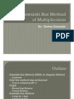 Kowalski Box Method