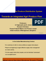 Indian Agri Prodn Distribtn System