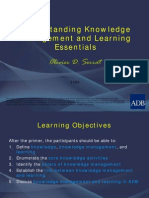 Knowledge Management Learning Essentials