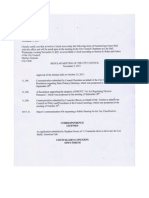 Nov. 9, 2011 City Council Agenda