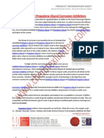 Ethylene and Propylene Glycol Corrosion Inhibitors