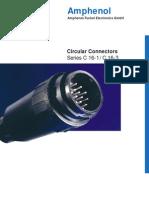 Amphenol Circular Plastico TUCHEL