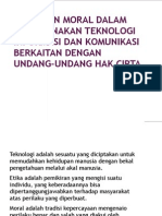 Materi Etika Dan Moral Dalam Menggunakan Teknologi Informasi Dan