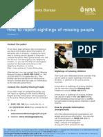 Factsheet 10 - Report_Sightings