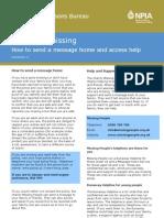Factsheet 11 - Message_Home