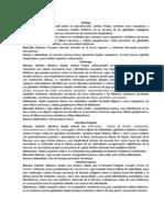 Abstracto 4 - Aparato Digestivo Tubular y Glandular