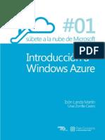 Súbete a la nube de Microsoft - Parte 1