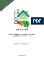 Manuale Utente Docet PRO 2010