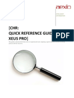 64307860 Xeus CHR Analysis Quick Guide
