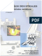 Procesos industriales para materiales metálicos