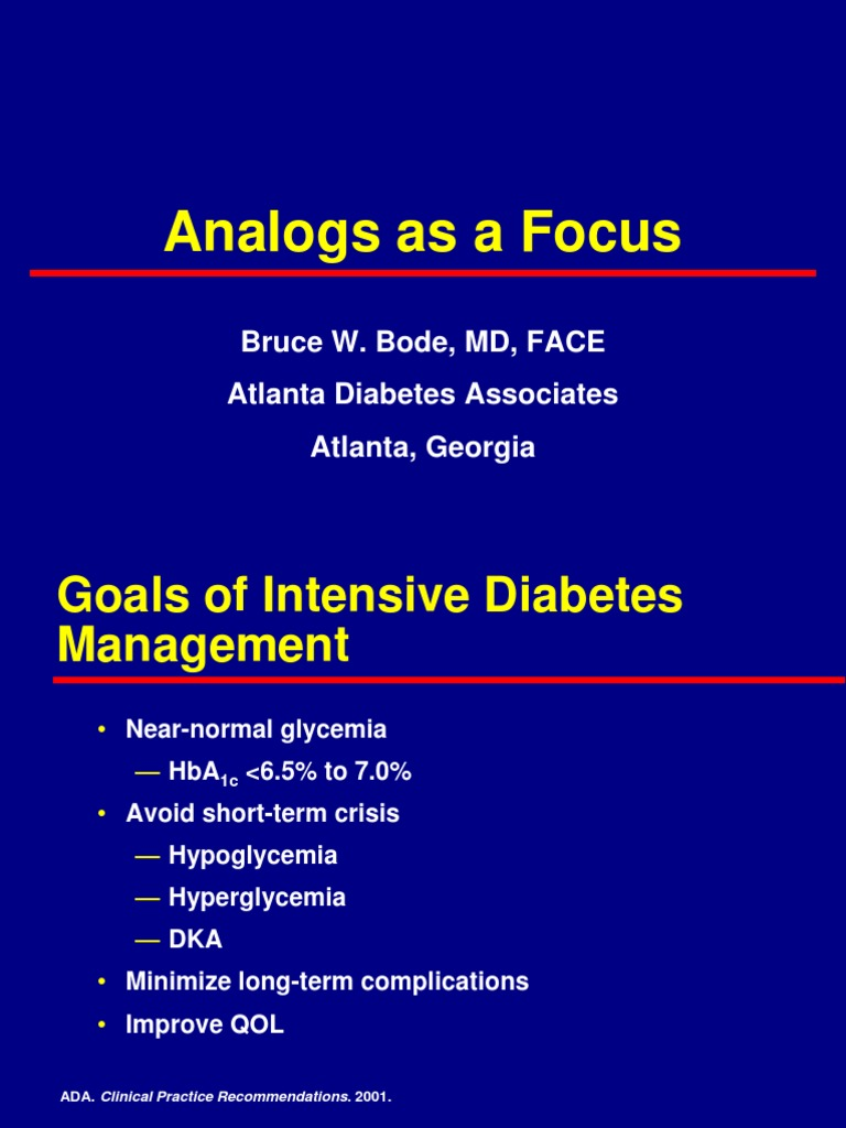 bruce bode md atlanta diabetes diabetes atlanta