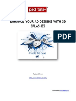 Enhance Your Ad Designs With 3d Splashes