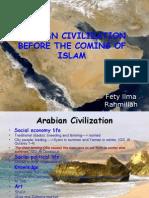 Arabian Civilization Before the Coming of Islam