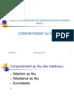 CFSA SSIAP 3-Comportement Au Feu 1