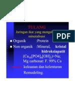 Biokimia (TULANG)