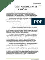 Teoria - Paquetes MSI de instalación de software