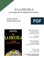 Dubet Martuccelli