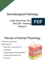 Dermatology Class Notes