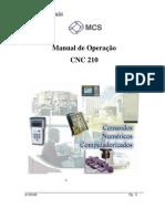 Cnc210 Manual Operacao