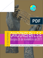 CancionLS II Concurso de Canciones en LSE