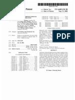 Pressure swing adsorption process operation and optimization (US patent 6605136)