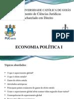 Aquecimento global e econômia