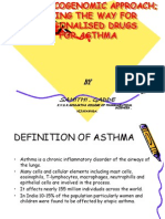 PHARMACOGENOMIC APPROACH; PAVING THE WAY FOR PERSONALISED DRUGS FOR ASTHMA