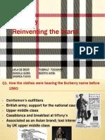 Burberry Ppt