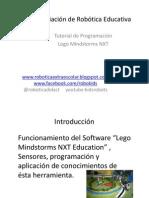 Nxt programación Introducción