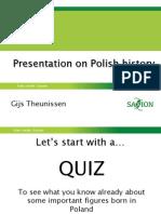 Power Point Presentation Polish History