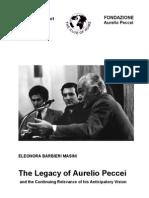 Aurelio Peccei the Club of Rome