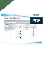 Omron Product Selector PN v2