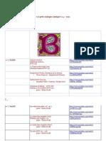●Le petit catalogue classique v.1.4 – 2012