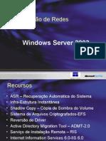 Aula 1- Administração de Redes Windows 2003 Server