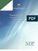 National Health Plan 2011