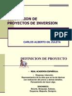 Clase Evaluacion de Proyectos