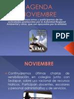 Agenda Noviembre